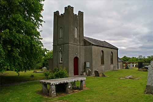 Saint David's Church in Kilsallaghan