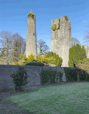 The Two Towers at Saint Columba's Church, Swords